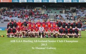 St Thomas's All-Ireland Champions 2013