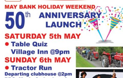 50th Anniversary Launch – May Bank Holiday Weekend