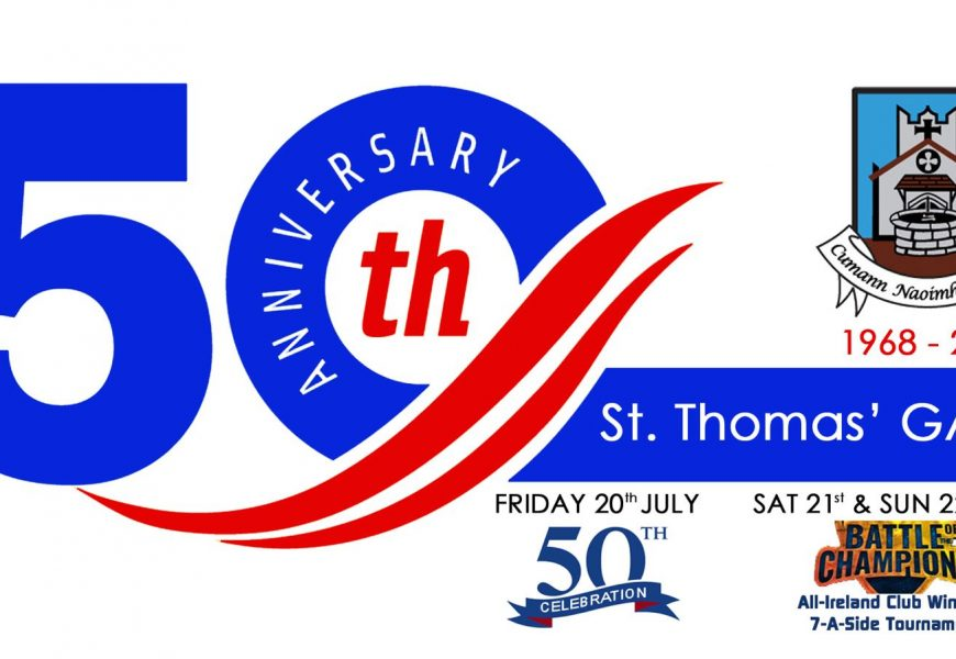 50th Anniversary Celebrations 20th-22nd July