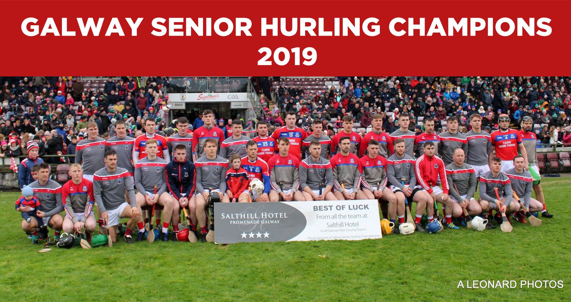 Galway Senior Hurling Champions 2018\